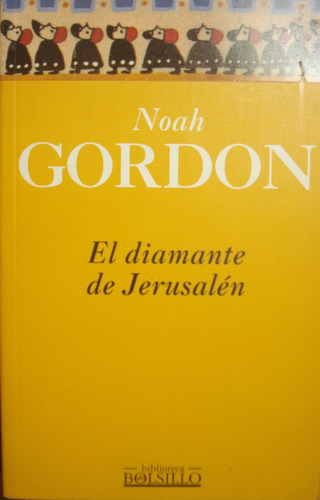el diamante de jerusalen, de noah gordon