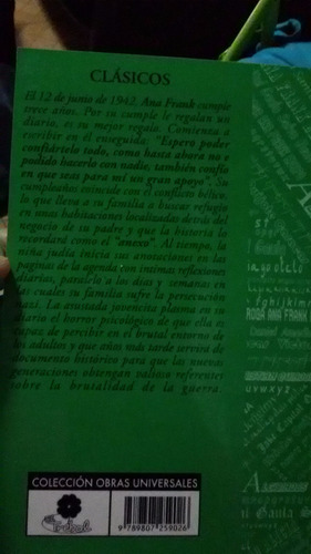 el diario de ana frank ana frank