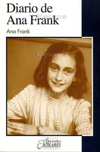 el diarío de ana frank libro infantil / juvenil literatura
