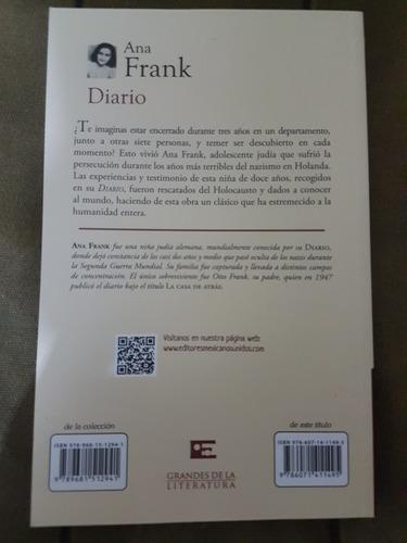 el diario de ana frank libro nuevo