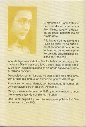 El Diario De Ana Frank Nuevo Hermeticamente Cerrado 17000 En