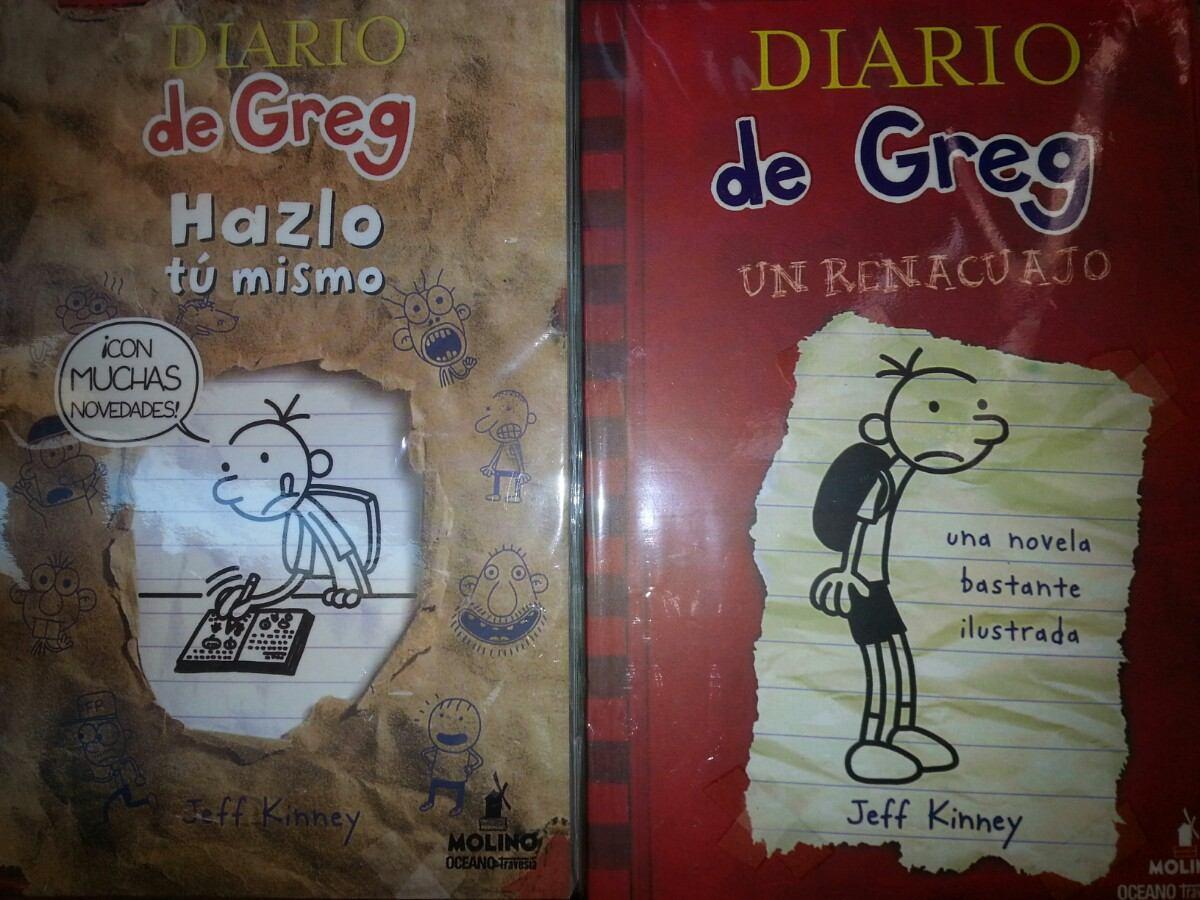 El Diario De Greg, Los 11 Libros - $ 175.00 en Mercado Libre