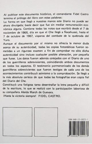 el diario del che en bolivia, ernesto guevara, ed. siglo xxi