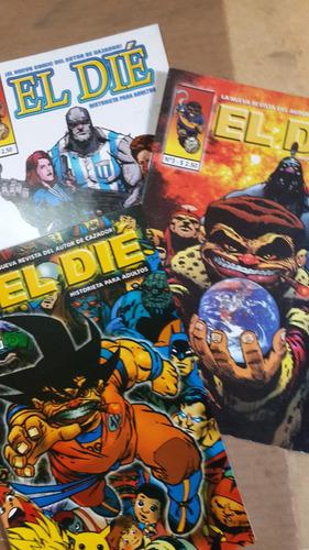 el die 2 3 y 6, color, historieta argentina