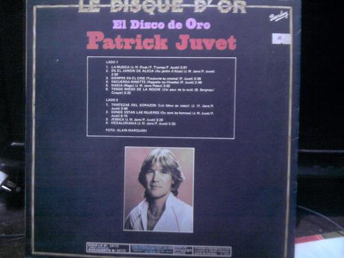 el disco de oro patrick juvet vinilo nacional