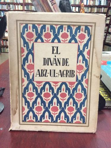 el divan de abz-ul-agrib