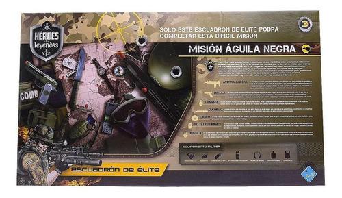 el duende azul set arma militar escuadron elite gde lat 6478