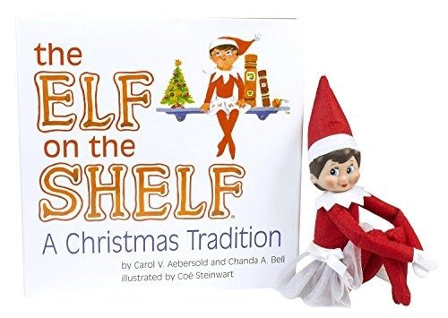 el duende en el estante una tradición de navidad colección