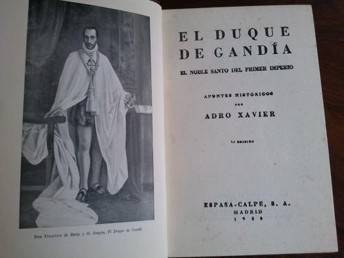 el duque de gandía - adro xavier (jesuítas)