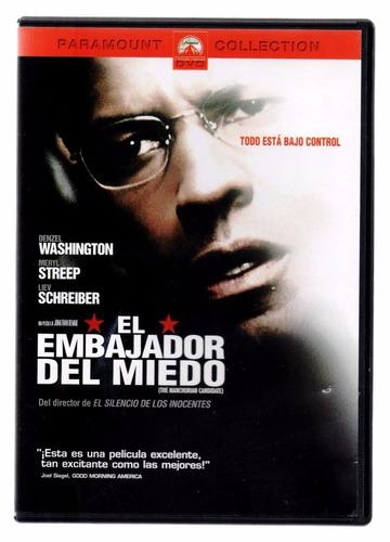el embajador del miedo the manchurian candidate en dvd