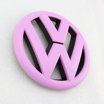 el emblema de vw rosa parrilla delantera de la parrilla insi