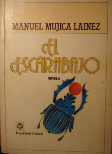 el escarabajo, de manuel mujica lainez