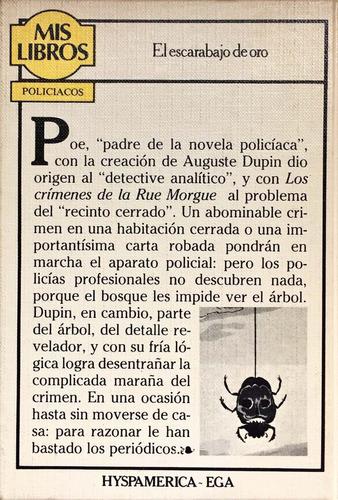 el escarabajo de oro y otros cuentos - edgar allan poe
