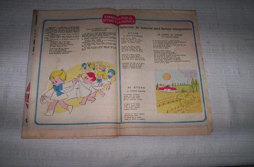 el escolar.antiguos suplementos diario el pais.1965-66-68-69