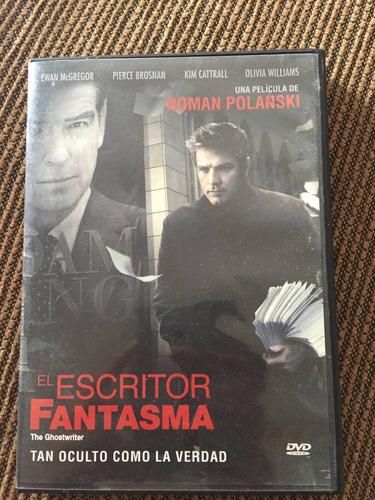 el escritor fantasma ewan mcgregor pierce brosnan dvd usado