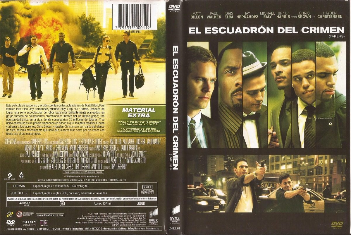 el escuadron del crimen takers