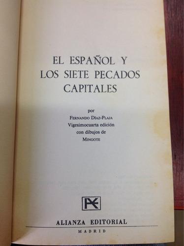 el español y los siete pecados capitales por fernando diaz p