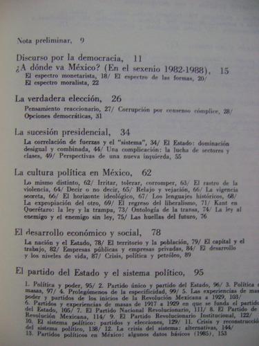 el estado y los partidos políticos en méxico - g. casanova
