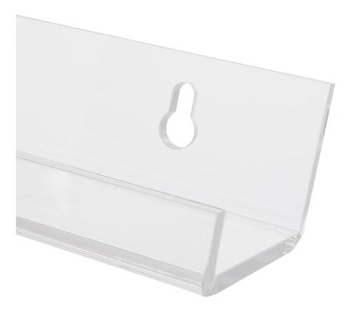 el estante de especias acrílico 'invisible'. fuerte, robu...
