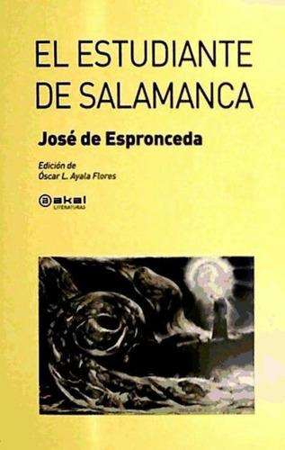 el estudiante de salamanca(libro poesía)