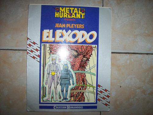 el exodo - jean pleyers - coleccion humanoides