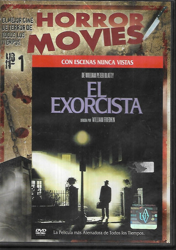 el exorcista escenas nuevas coleccion horror movies 1 dvd
