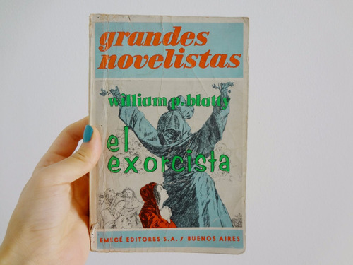 el exorcista william blatty edición antigua 1971 emecé
