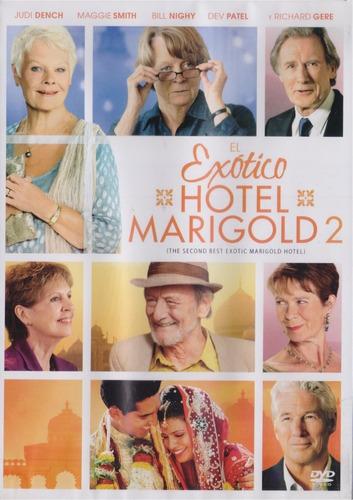 el exotico hotel marigold 2 dos dev patel pelicula dvd