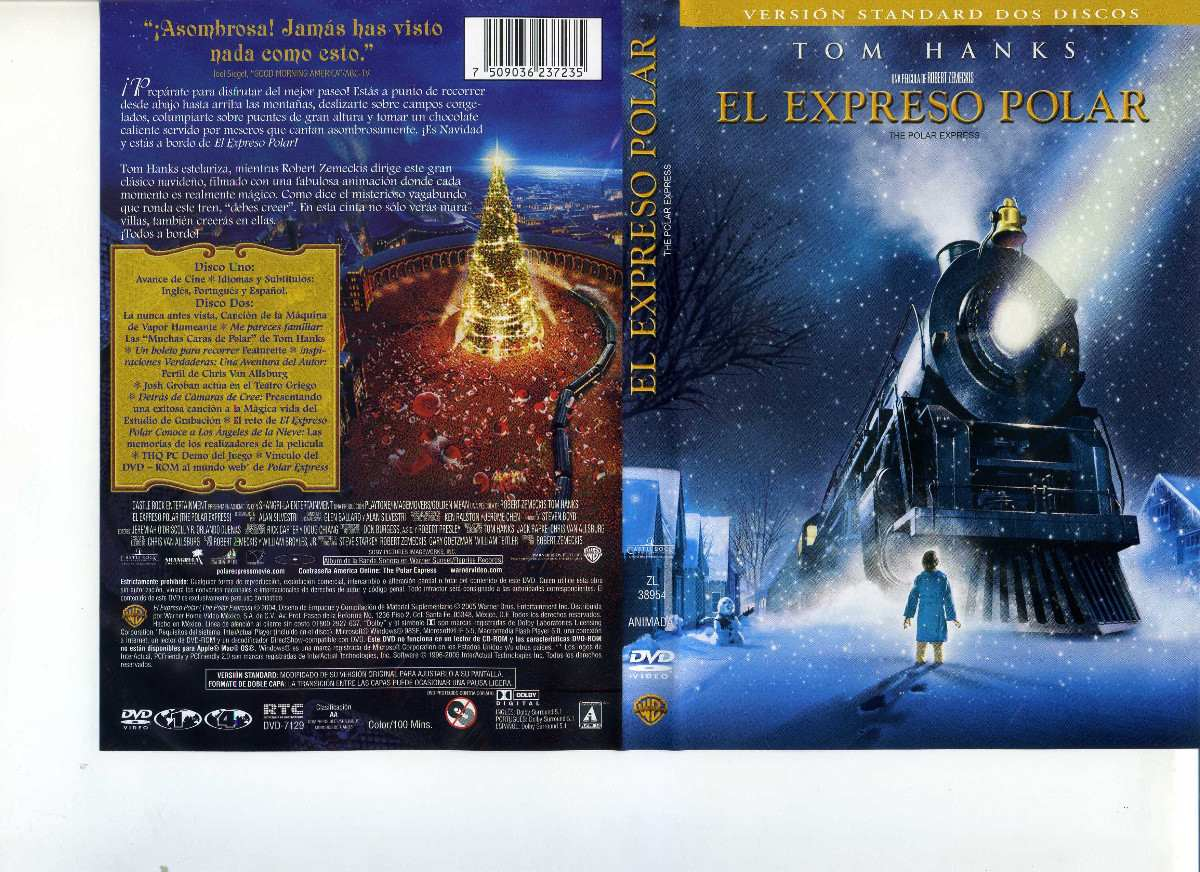 El expreso polar the polar express dvd en for Expreso polar