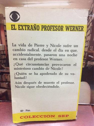 el extraño profesor werner - keller - ed. edisven - terror