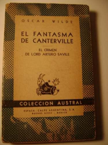 el fantasma de canterville - el crimen de lord arturo savile