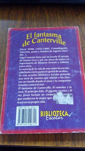 el fantasma de canterville - oscar wilde