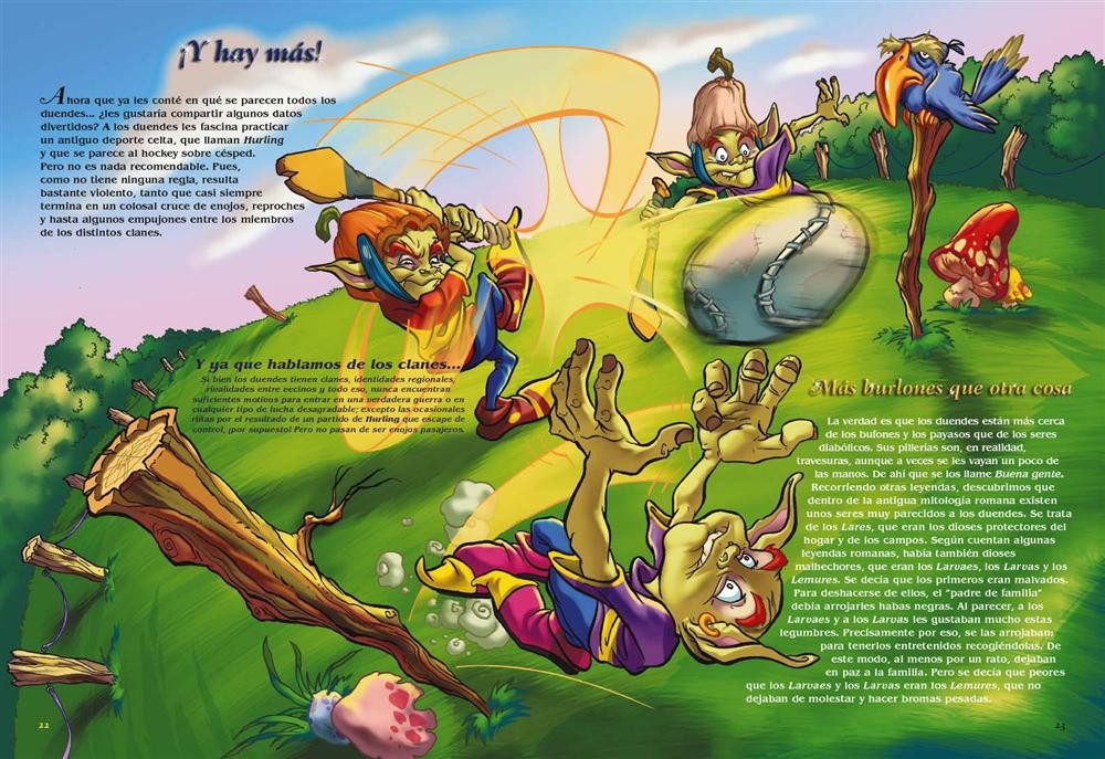 Resultado de imagen de El hurling con duendes