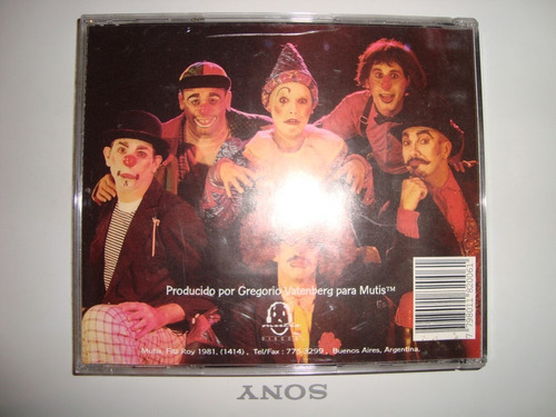 el fausto-la banda de la risa-teatro-audio cd-en caballito