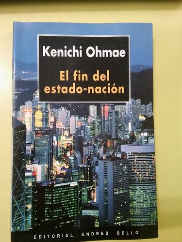 el fin del estado - nación  kenichi ohmae