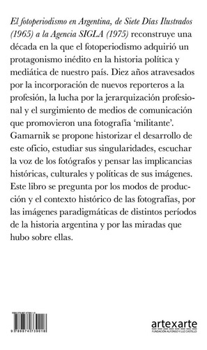 el fotoperiodismo en argentina.