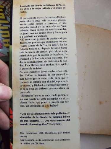 el francotirador e. m. corder libro de la pelicula de niro
