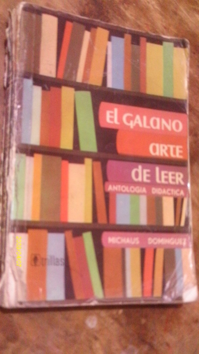 el galano arte de leer gratis