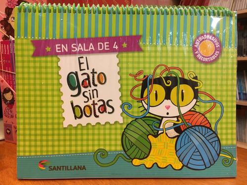 el gato sin botas en sala de 4 años - santillana