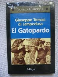el gatopardo di lampedusa giusepe novela