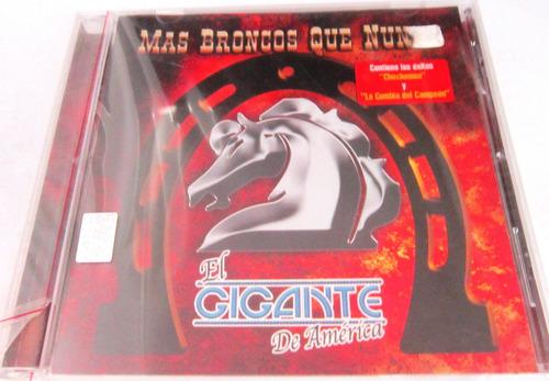el gigante de america bronco - mas broncos que nunca new cd