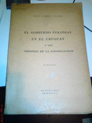 el gobierno colonial en el uruguay