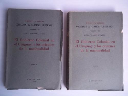el gobierno colonial en uruguay los origenes de nacionalidad