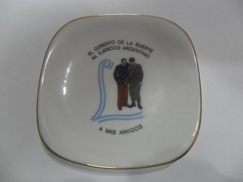 el gordito de la suerte ejercito argentino platito escudo