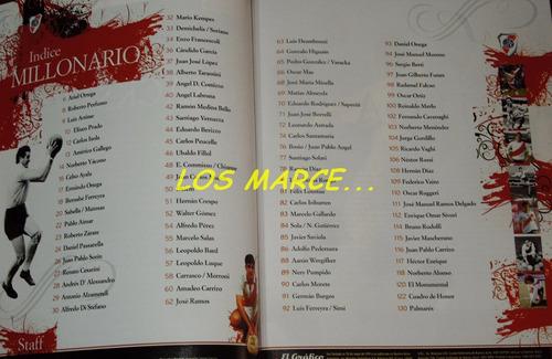 el grafico 100 idolos de river plate libro de coleccion