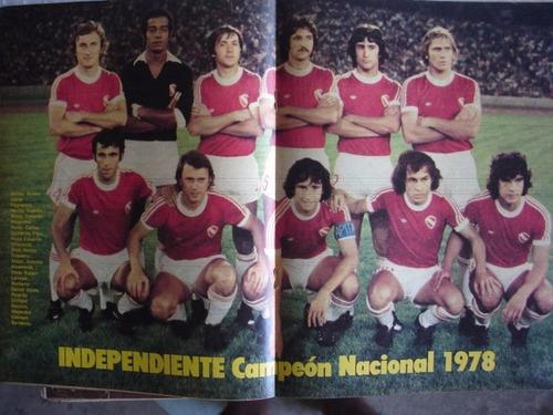 el grafico 3093 independiente campeon nacional 1978