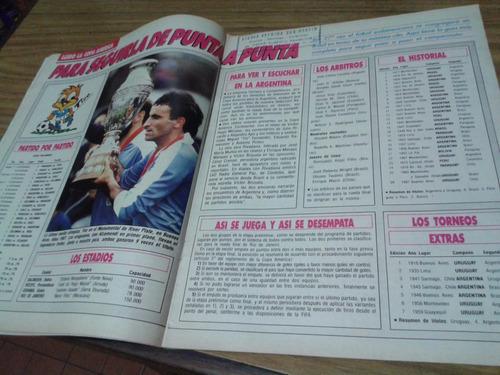 el gráfico 3638 d- guia copa america 1989 / carlos monzon