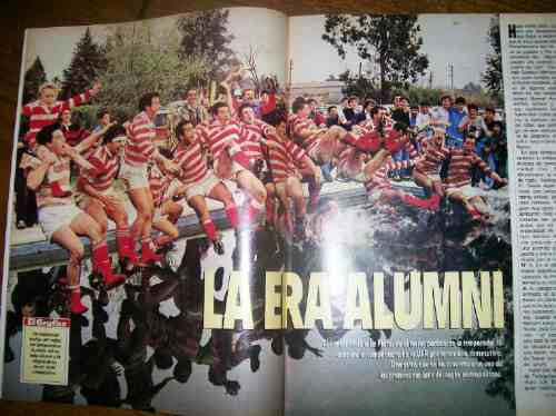 el gráfico 3751 f- alumni campeon rugby  / enzo francescoli
