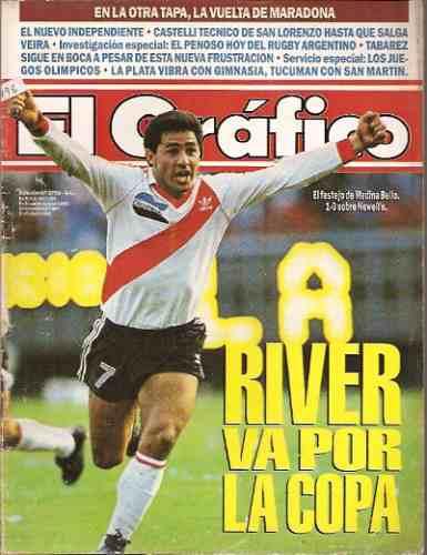 el gráfico 3798 g- river 1 newell´s 0 / diego maradona