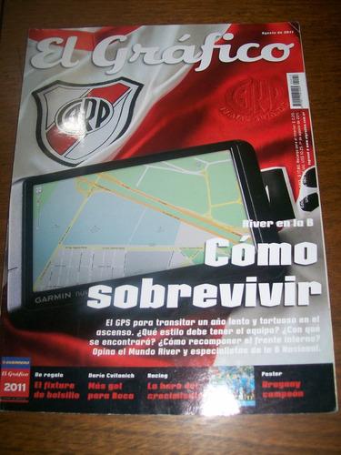el gráfico 4413 - river en la b - uruguay campeon de america